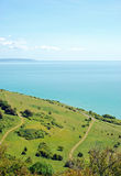 View from beachy head eastbourne england Stock Photography