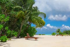 View of beautiful beach royalty free stock photos