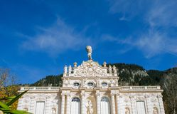 Linderhof Castle. A View of beautiful Castle Linderhof Royalty Free Stock Photos
