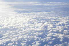 View of beautiful cloud royalty free stock photos