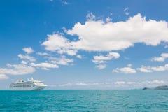 View of beautiful coastline Stock Image