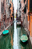 View of beautiful colored venice canal Royalty Free Stock Photos