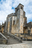 View of the beautiful Convent of Christ in Tomar Stock Photography