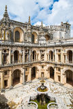 View of the beautiful Convent of Christ in Tomar, Portugal Stock Photos
