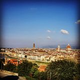 Firenze Morning. View of the beautiful Firenze, Italy Stock Photography