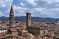 A view of beautiful Florence royalty free stock images