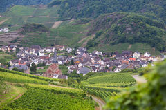 View of a beautiful German village Royalty Free Stock Photography