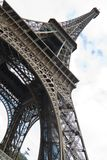 Iconic Eiffel Tower. View of the beautiful iconic Eiffel tower in Paris, France Royalty Free Stock Photo
