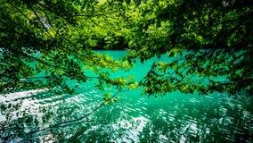 View of beautiful lake Royalty Free Stock Photos