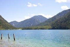 View at beautiful lake Heiterwangersee in Tirol Stock Photo