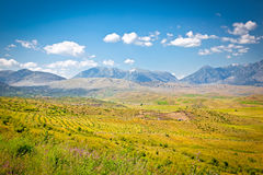 View of beautiful nature in Gjirokaster region, Albania. Royalty Free Stock Image
