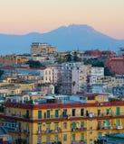 Cityscape of Naples, Italy Stock Photography