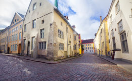 View of beautiful old town Tallinn. Estonia Royalty Free Stock Images