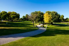 View of beautiful park Stock Photography