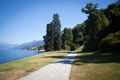 View of beautiful park of Villa Melzi Stock Photography