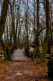 Park Vrelo Bosne. View of the beautiful park Vrelo Bosne in Bosnia and Herzegovina stock photography
