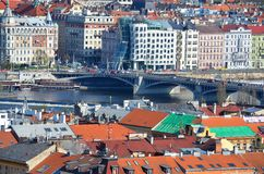 View of beautiful Prague Stock Image