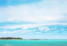 View of beautiful sea resort Stock Photos