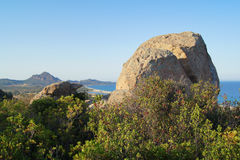 View of beautiful sea, Sardinia Royalty Free Stock Image