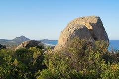 View of beautiful sea, Sardinia Royalty Free Stock Image