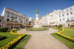 Coimbra city in Portugal Royalty Free Stock Image