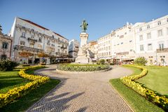Coimbra city in Portugal Royalty Free Stock Images