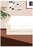 The view of beauty parlor. Interior Royalty Free Stock Photography