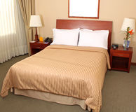 View of bed room interior Stock Photography