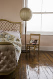 View Of A Bedroom Royalty Free Stock Photography