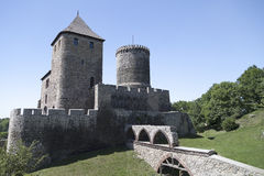 View on Bedzin Castle in Poland, Stock Photo
