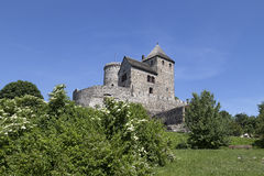 View on Bedzin Castle in Poland, Royalty Free Stock Photography