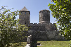 View on Bedzin Castle in Poland, Stock Photos