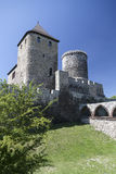 View on Bedzin Castle in Poland, Stock Images