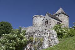View on Bedzin Castle in Poland Royalty Free Stock Images