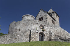 View on Bedzin Castle in Poland,  Upper Silesia Stock Image
