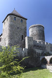 View on Bedzin Castle in Poland,  Upper Silesia Royalty Free Stock Photography