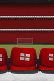 View behind empty seats Royalty Free Stock Photos