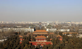 View of Beijing Royalty Free Stock Photo