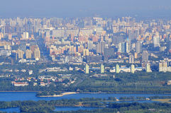 View of Beijing Skyline -Pangu Plaza Hotel Royalty Free Stock Image