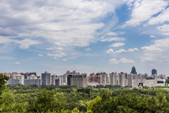 View of Beijing skyline Royalty Free Stock Image