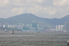 View of Belcher Bay, hong kong at 2017 Stock Images