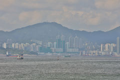 View of Belcher Bay, hong kong at 2017 Stock Photography