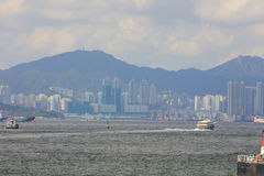 View of Belcher Bay, hong kong at 2017. The View of Belcher Bay, hong kong at 2017 Stock Image