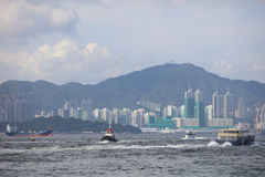 View of Belcher Bay, hong kong at 2017. The View of Belcher Bay, hong kong at 2017 Stock Photo
