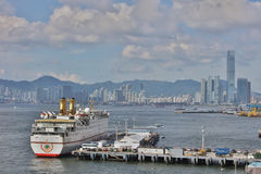 View of Belcher Bay, hong kong at 2017. The View of Belcher Bay, hong kong at 2017 Royalty Free Stock Photos