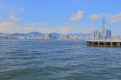 The View of Belcher Bay, hong kong Royalty Free Stock Photography