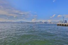 The View of Belcher Bay, hong kong. 2017 Stock Photos