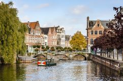A view of the Belgian city, Lier Stock Photo