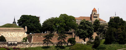 View of the Belgrade  fortress  Kalemegdan Stock Images