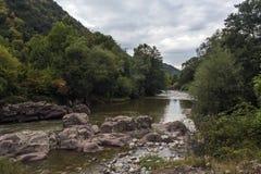View of Beli Vit River, Bulgaria Stock Photography